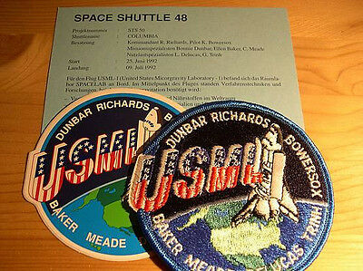 Missionsembleme Space Shuttle STS-50