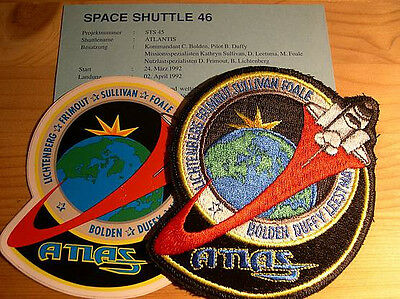 Missionsembleme Space Shuttle STS-45