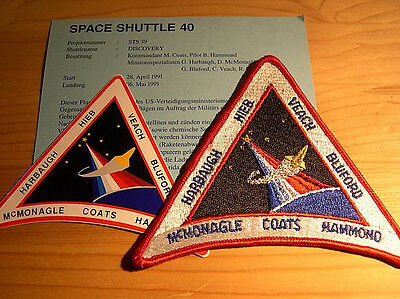 Missionsembleme Space Shuttle STS-39
