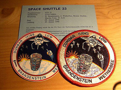 Missionsembleme Space Shuttle STS-32