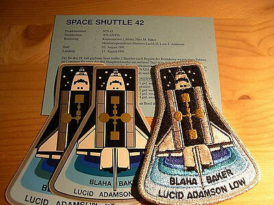 Missionsembleme Space Shuttle STS-43