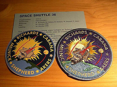 Missionsembleme Space Shuttle STS-41