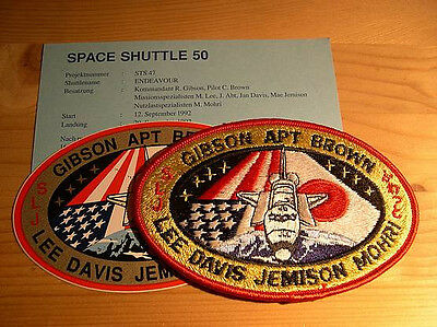 Missionsembleme Space Shuttle STS-47