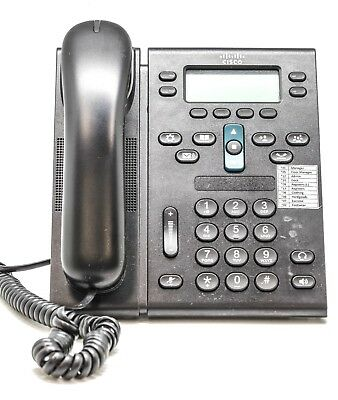Cisco CP-6945-C-K9= Unified IP Handset Business Phone Work Network Telephone