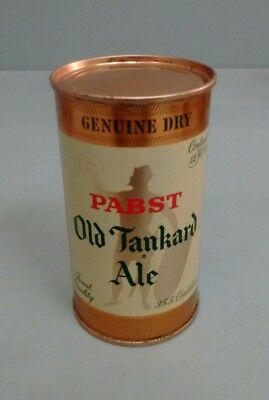 Pabst Genuine Dry Old Tankard Ale Flat Top Can