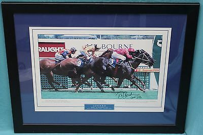 Lonhro and Darren Beadman Framed Picture - Signed