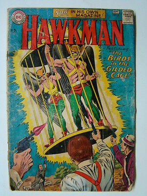 Hawkman #3 Murphy Anderson Cover Art 1963 GD-