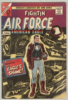 Fightin' Air Force #53 March 1966 VG American Eagle cover