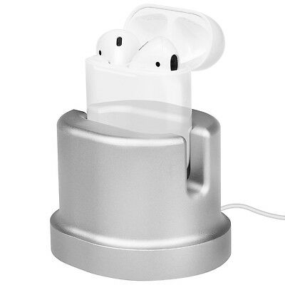 Aluminum Scratch-Free Charging Stand Holder for AirPods / Apple Pencil / iPhone