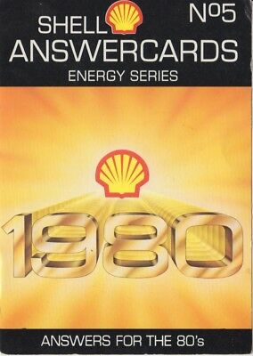 Shell Energy Series Answercards