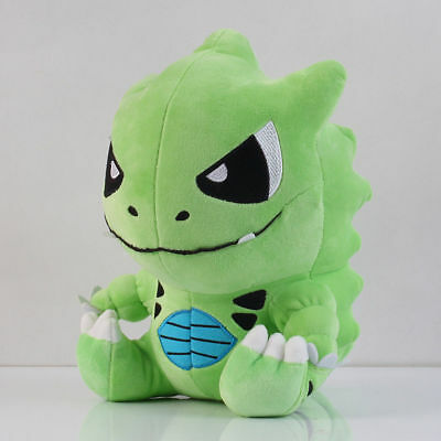 Pokemon Figure Doll Tyranitar Stuffed Plush Toys Large 12inch , Green