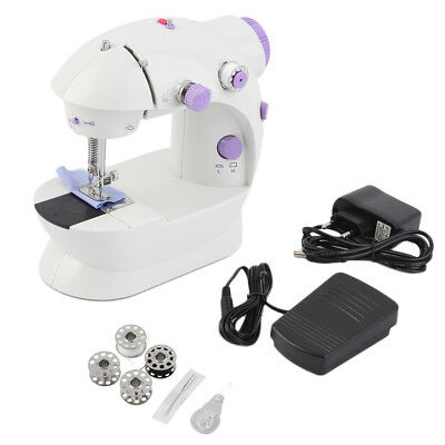 Mini Sewing Machine Electric Smart Tailor Automatic Thread Stitch with Light EU