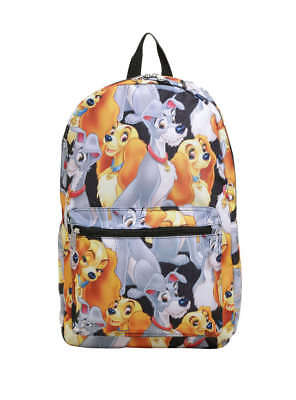 Disney Loungefly Lady And The Tramp Backpack New!