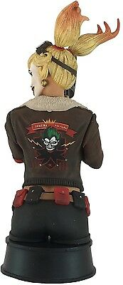 Icon Heroes DC Bombshells Harley Quinn PREVIEWS Exclusive Statue Paperweight