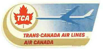 Trans-Caribbean Airlines    Vintage 1950/'s Style   Travel Sticker Decal Label