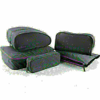 American Tourister Travel Accessories 5-in-1 Travel Pouch Purple 55139