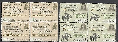 Christmas Island 2017 Early Voyages Block of 4 Stamps