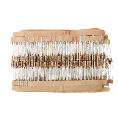 Carbon Film Resistors 1/4W 0.25W - Full Range of Values - Various Pack Sizes