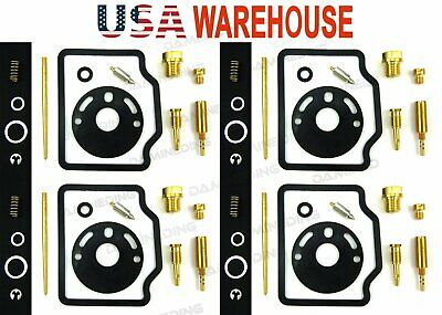 4X 1970-76 honda cb750 k1 k2 k3 k4 k5 k6 Carb Carburetor Rebuild Repair Kit-US