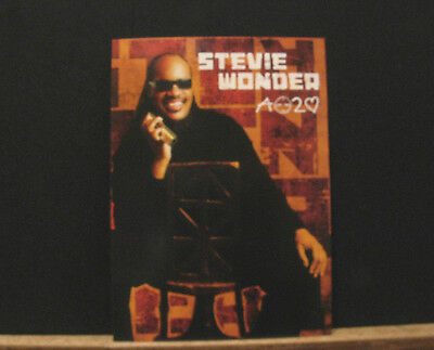 Stevie Wonder Large Promo Postcard