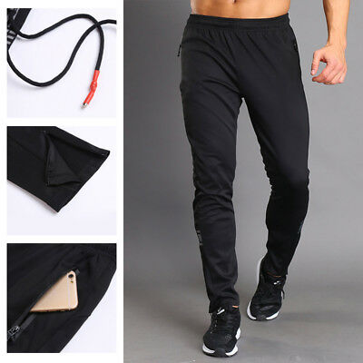 Men Casual Sweatpants Gym Athletic Fitness Workout Running Joggers Stretch Pants