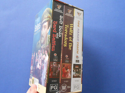 THE PETER SELLERS COLLECTION - VHS x 3 - WALTZ OF THE TOREADORS, NAKED TRUTH +
