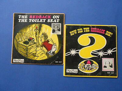 The Redback On The Toilet Seat & How Did The Die - Slim Newton - Vinyl 45 Record