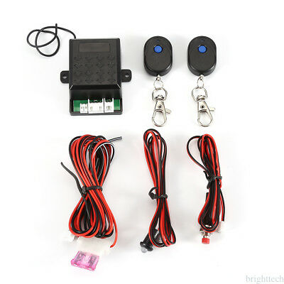 Car Alarm Protect Immobilizer Anti-theft Security System+2 Remote Control Keys