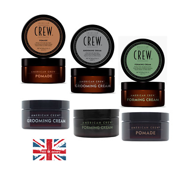 American Crew Styling Hair Fiber Pomade Foaming Cream and Grooming Cream 85g