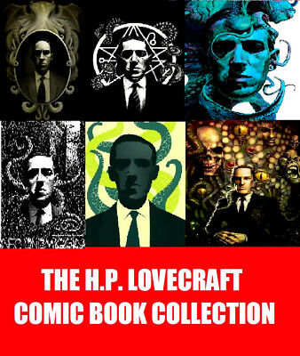 The H.P. Lovecraft Comic Collection on 2 DVD