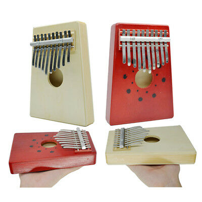 Finger Percussion African Thumb Piano Keyboard Music Instruments 10 Key Kids Toy