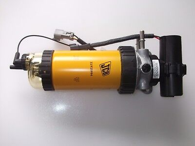 JCB Fuel Filter and Electric Pump part Number 320/07458 Filter 32/925994