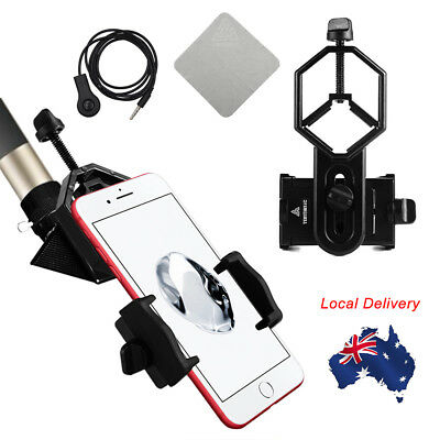 2018 Universal Telescope Cell Phone Mount Adapter for Monocular Spotting Scope