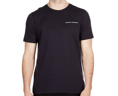 Under Armour Men's Charged Cotton Tee - Black