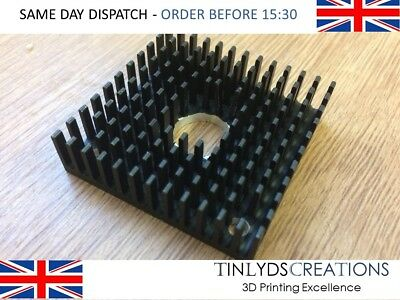 Cooling Fin Heatsink 40 X 40 X 10mm - MK8 / MK10 Extruder 3D Printer Part