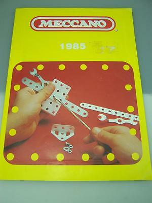 1985 Meccano catalogue                                             1976