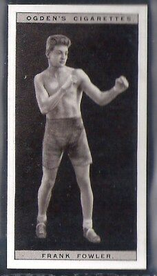Ogdens-Pugilists In Action-#16- Boxing - Frank Fowler