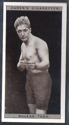 Ogdens-Pugilists In Action-#46- Boxing - Roland Todd