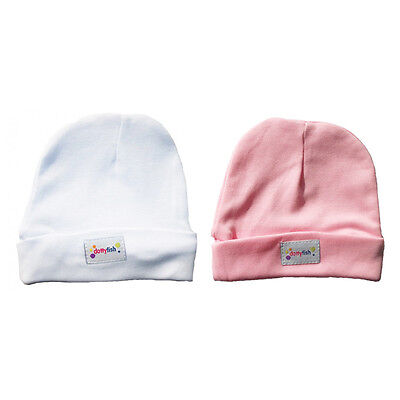 *DISCONTINUED* Dotty Fish White / Pink Soft Cotton Hat