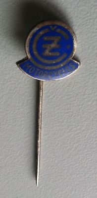 CZ MOTORCYCLES Anstecknadel/stick pin badge emailliert 1950er 	[4106]