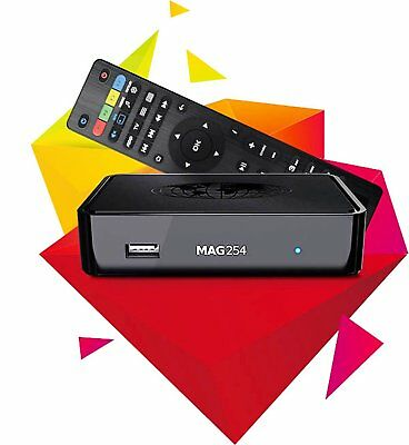 Original Infomir Mag 254 Linux IPTV / OTT Box with Faster Processor Than MAG 250