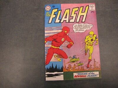 Facsimile reprint covers only to Flash 139 - SILVER AGE FLASH 1st REVERSE FLASH!