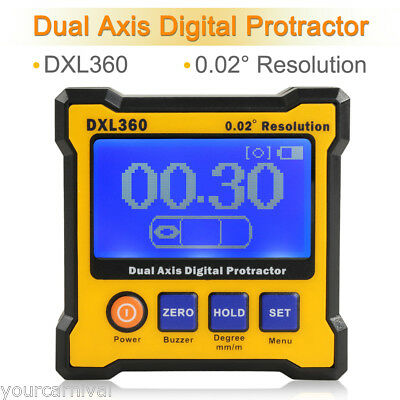 NEW Digital Level Box Inclinometer Protractor Angle Cube Gauge Finder Measurer