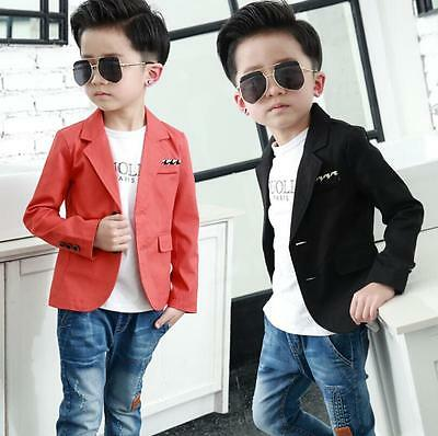 NEW Baby Kids Boys Suits Page Boy Suits Blazer Suit jacket Ages of 2-12 Years