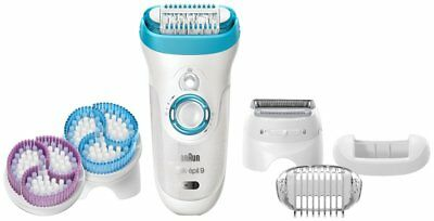 ●New●Braun Silk Spa Womens Epil WetDry Cordless Beauty Care SE9961E ●With track●