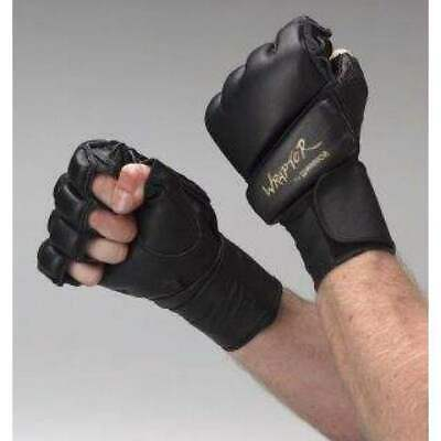 NEW Warrior MMA Gloves - Wraptor Gloves Soft Leather Enclosed Hand Hapkido glove