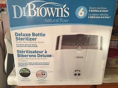 Dr. Brown's Deluxe Bottle Sterilizer Used