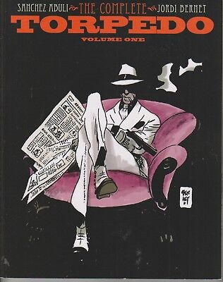 The Complete Torpedo   Vol 1 November 2012  Softcover   Idw Publishing  144 Pag