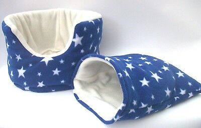 *** 2 PIECE SET ***guinea pig bed snuggle pouch cuddle cup sack sleeping bag
