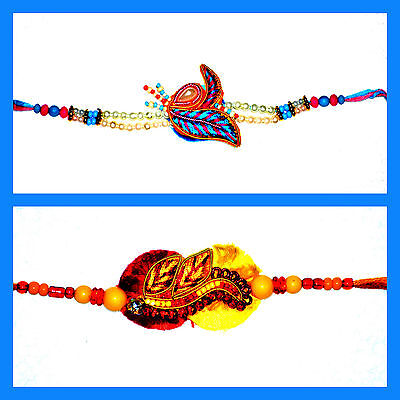 Set of 2 Premium Rakhi Rakhee